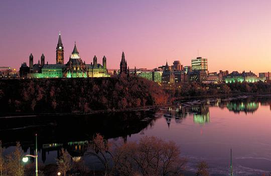 加拿大首都是哪个城市?